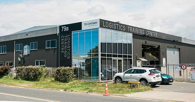 Toi Ohomai Logistics Training Centre, Mt Maunganui