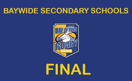Baywide Secondary Schools Rugby Final
