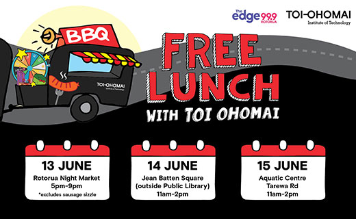 Free Lunch with Toi Ohomai