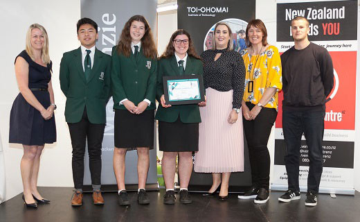Young Enterprise Scheme Winners