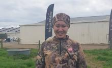 Toi Ohomai graduate Anahera Hale at this year's Eastern Bay of Plenty Skills Day
