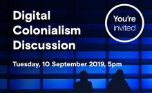 Toi Ohomai is hosing an open forum to discuss the idea of digital colonialism