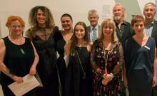 Winners from the Miles Art Awards
