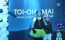 Toi Ohomai hosted the roller disco at last year's Taupō Winter Festival, and will do so again this weekend