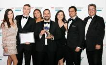 Toi Ohomai and Collab Digital at the Westpac Tauranga Business Awards